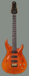 12-string Hollow-body, Curly Maple - front
