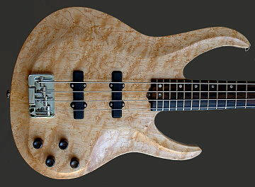 4-string bass, Bird's Eye Maple top