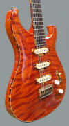 12-string HB, Curly Redwood top - body view6