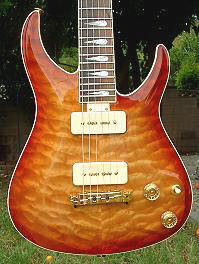 Micro, Quilted Maple, Maple Sunburst