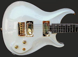 12-string Solid body, White Pearl finish