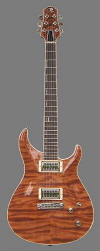 Standard, Curly Redwood top - front